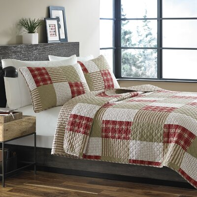 Camano Island Reversible Coverlet Set