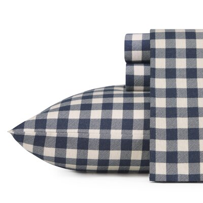 Preston 100% Cotton Flannel Sheet Set Size: Twin