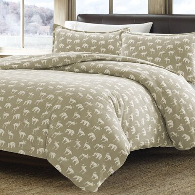 Buckridge Ridge Reversible Duvet Cover Set Size: Full / Queen