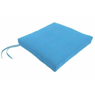 Sunbrella Dining Chair Cushion Fabric: Canvas Capri