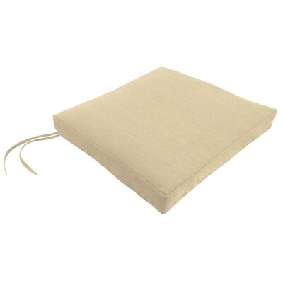 Sunbrella Dining Chair Cushion Fabric: Spectrum Sand