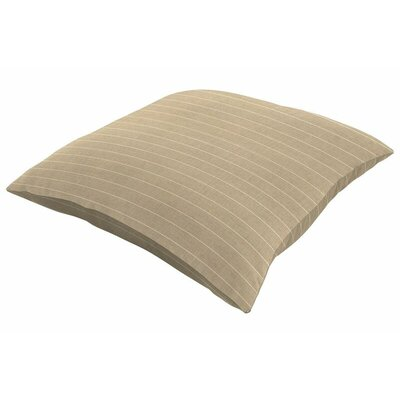 Sunbrella Knife Edge Throw Pillow Size: 16 H x 16 W