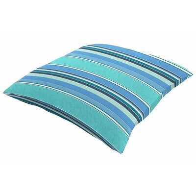 Outdoor Sunbrella Knife Edge Throw Pillow Size: 22 H x 22 W