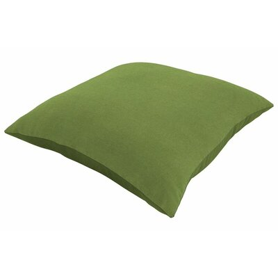 Sunbrella Knife Edge Throw Pillow Color: Spectrum Cilantro, Size: 24 H x 24 W