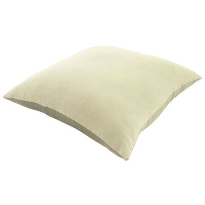 Sunbrella Knife Edge Lumbar Pillow Size: 18 H x 12 W, Color: Canvas Natural