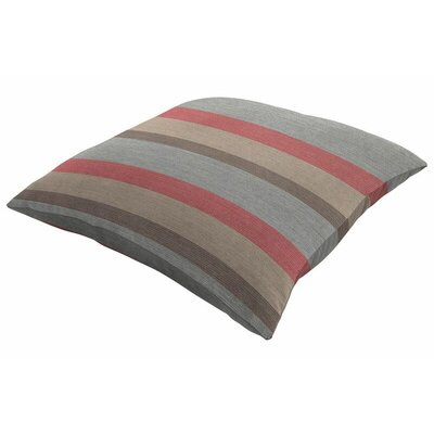 Sunbrella Knife Edge Throw Pillow Color: Gateway Blush, Size: 16 H x 16 W