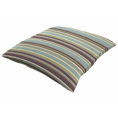 Outdoor Sunbrella Knife Edge Throw Pillow Size: 18 H x 18 W