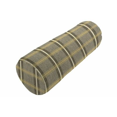 Sunbrella Knife Edge Bolster Pillow Color: Holmes Flannel