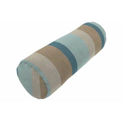 Sunbrella Knife Edge Bolster Pillow Color: Gateway Mist