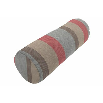 Sunbrella Knife Edge Bolster Pillow Color: Gateway Blush