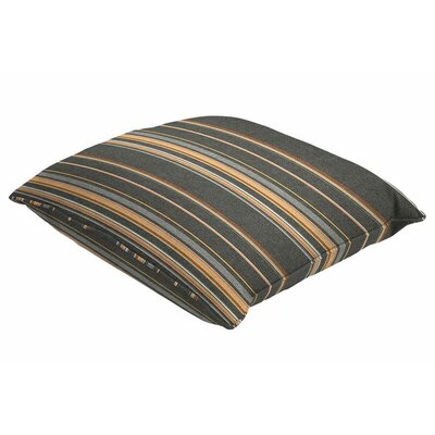 Sunbrella Single Piped Throw Pillow Size: 22 H x 22 W