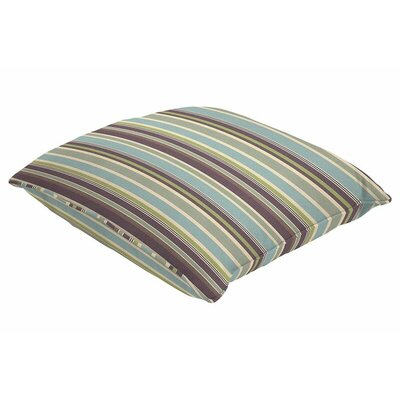 Sunbrella Single Piped Throw Pillow Size: 20 H x 20 W