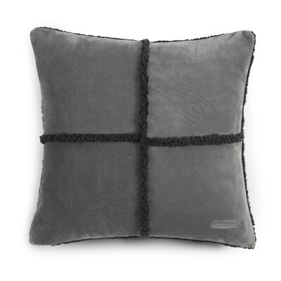 Rockford Throw Pillow Color: Chrome