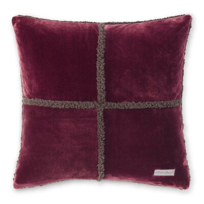 Rockford Throw Pillow Color: Beet