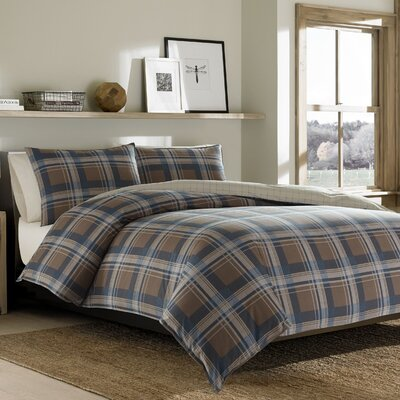 Phinney Ridge Reversible Duvet Cover Set Size: Full/Queen