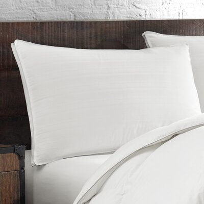 400 Thread Count Down Chamber Feathers Pillow Size: Standard