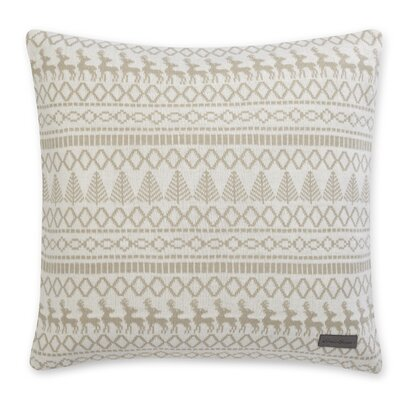Alpine Throw Pillow Color: Oyster