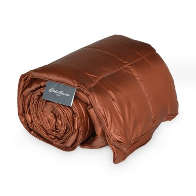 700 Fill Power Down Throw Color: Brown