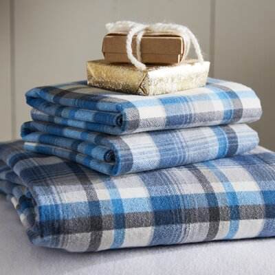 Spencer Cotton Flannel Sheet Set Size: Full