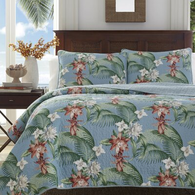 Southern Breeze Cotton Quilt Set by Tommy Bahama Bedding Size: King