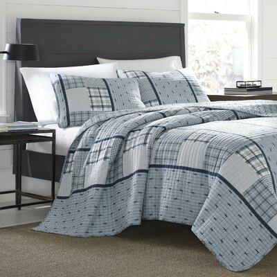Windermere Reversible Quilt Set Size: King