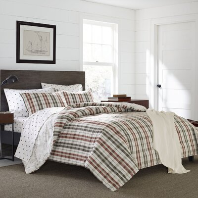 Point Permit Reversible Comforter Set Size: Full/Queen