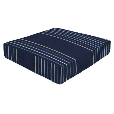 Knife Edge Outdoor Sunbrella Ottoman Cushion Size: 5 H x 23 W x 20 D
