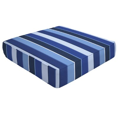 Double Piped Outdoor Sunbrella Ottoman Cushion Size: 5 H x 23 W x 20 D