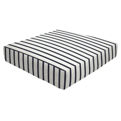 Knife Edge Outdoor Sunbrella Ottoman Cushion Size: 5 H x 26 W x 24 D