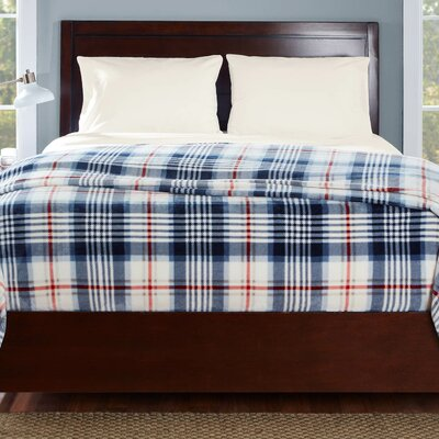 Summit Plaid Blanket Size: King