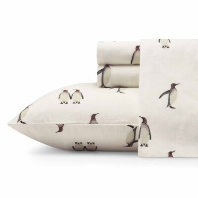 Rookeries Flannel Sheet Set Size: Queen