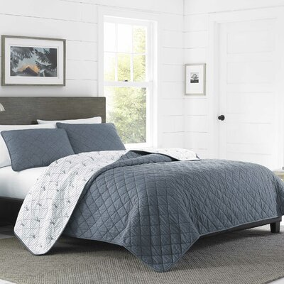 Freestone Reversible Quilt Set Size: King