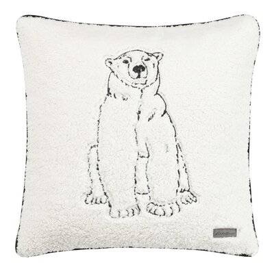 Cozy Polar Bear Throw Pillow