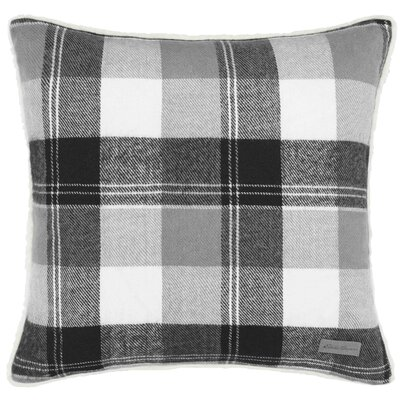 Lodge Throw Pillow Color: Gray