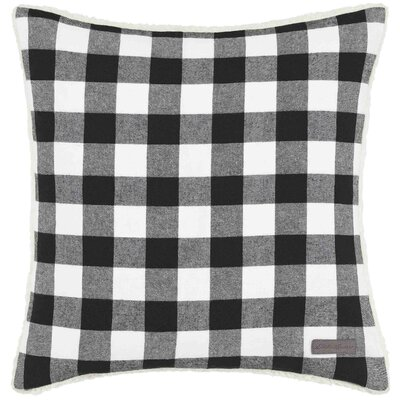 Cabin Plaid 100% Cotton Throw Pillow