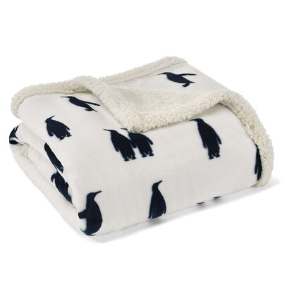 Emperor Penguin Ultra Plush Throw