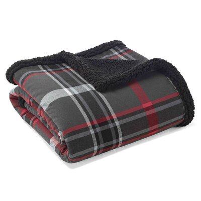 Winslow Sherpa Fleece Cotton Throw