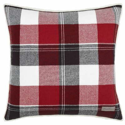 Lodge Throw Pillow Color: Red