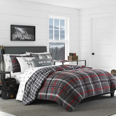 Willow Plaid Comforter Set Size: King