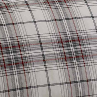 Alder Plaid 100% Cotton Comforter Set Size: Twin