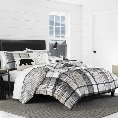 Normandy Plaid Comforter Set Size: Twin