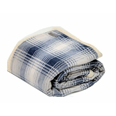 Sherpa Fleece Throw Color: Midnight