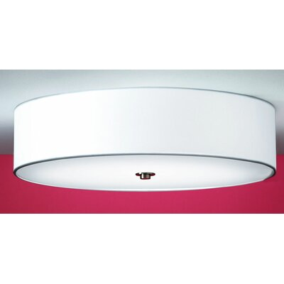 Discovolante Ceiling / Wall Light by Paolo Grasselli Shade Color: White