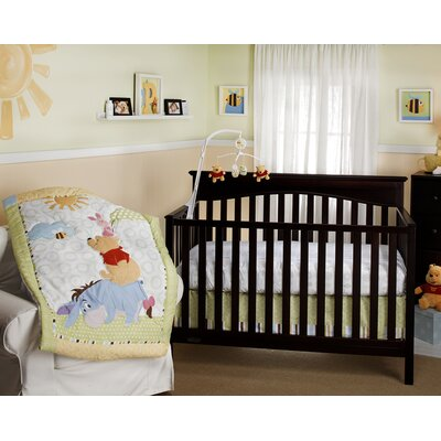 Disney Baby Playful Pooh Crib Bedding Collection (2 Pieces)