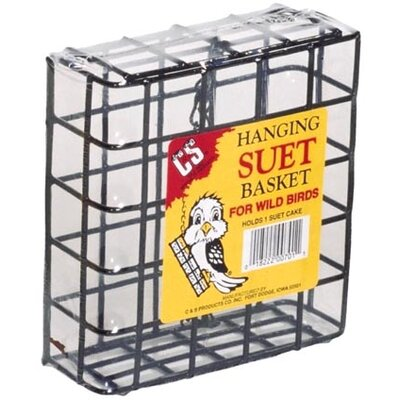 Single Basket Suet Cake Bird Feeder