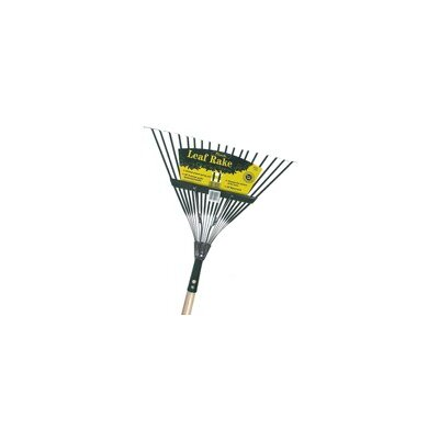 Handle Spring Action Metal Head Leaf Rake Size: 22