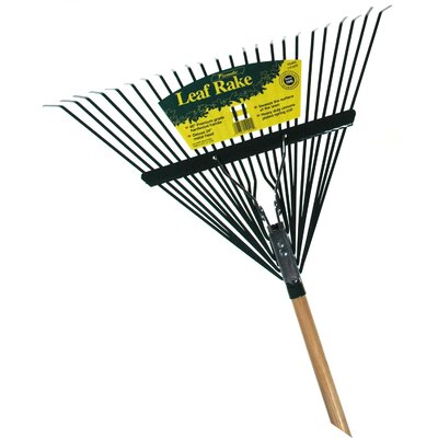 Handle Metal Head Leaf Rake
