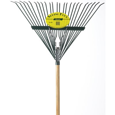 Deluxe Spring Action Leaf Rake