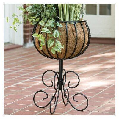 Blacksmith Pedestal Plant Stand