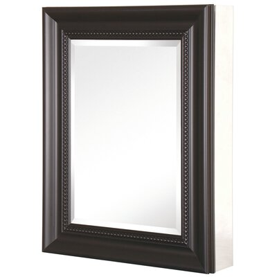 "Pegasus Deco 20"" x 26"" x 5.5"" Framed Medicine Cabinet - Frame Finish: Espresso at Sears.com"